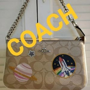 COACH Nasa Space purse